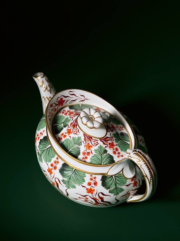 The Parapet-Shaped Teapot, circa 1812-1828
