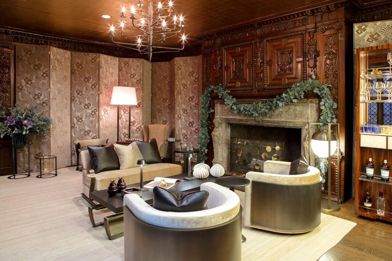 Sarah Magness - Pierre Frey fabrics and custom furniture by Promemoria