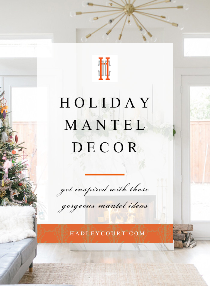 holiday mantel decorating ideas