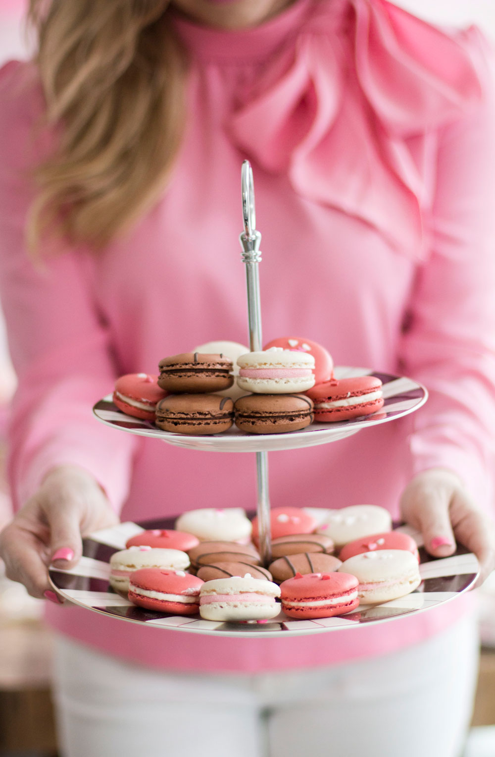 valentines day party idea sweets macarons