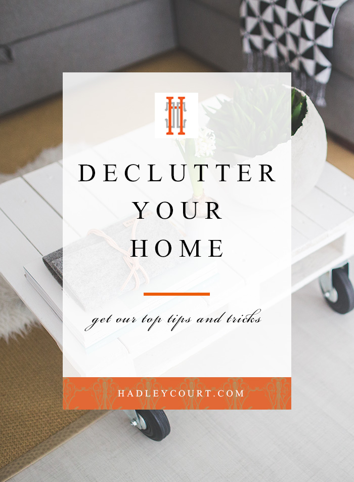how to declutter your home, our favorite tips and tricks for decluttering for new years