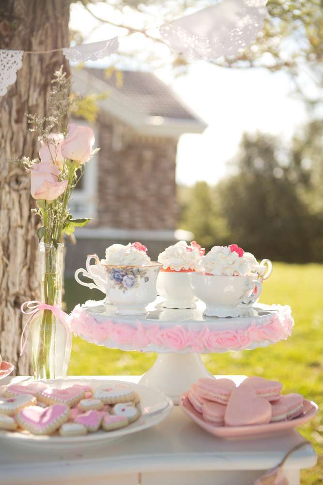 galentine's day party idea tea party