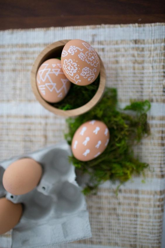 easter egg decorating ideas for grownups