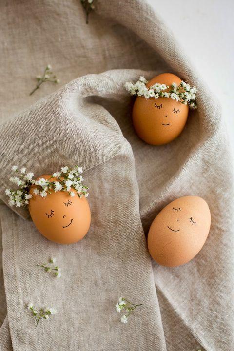 easter egg decorating sketching