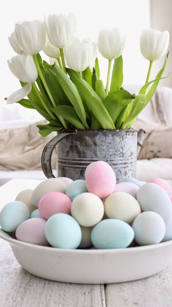 easter home decor ideas decorate with easter eggs
