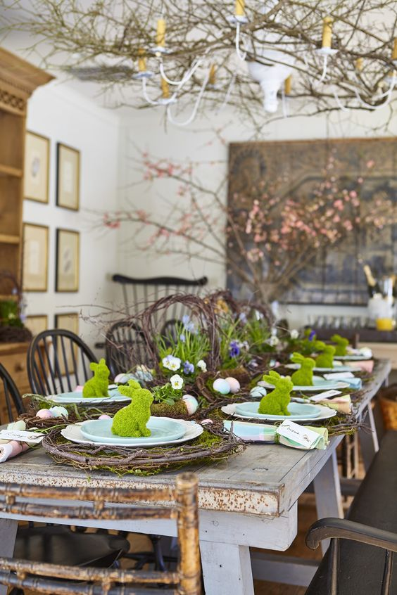 easter tabletop inspiration and ideas