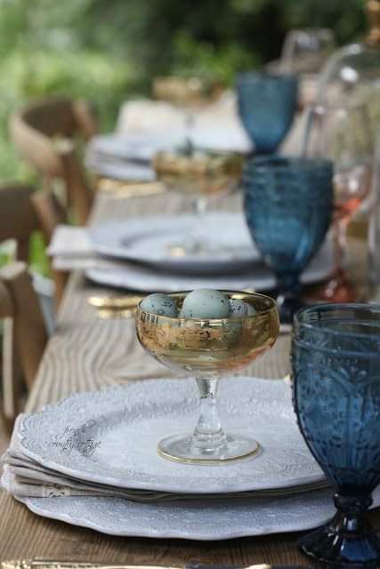 easter tabletop ideas