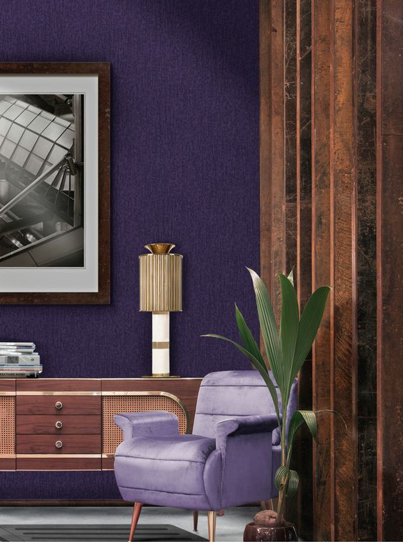 ultraviolet home decor