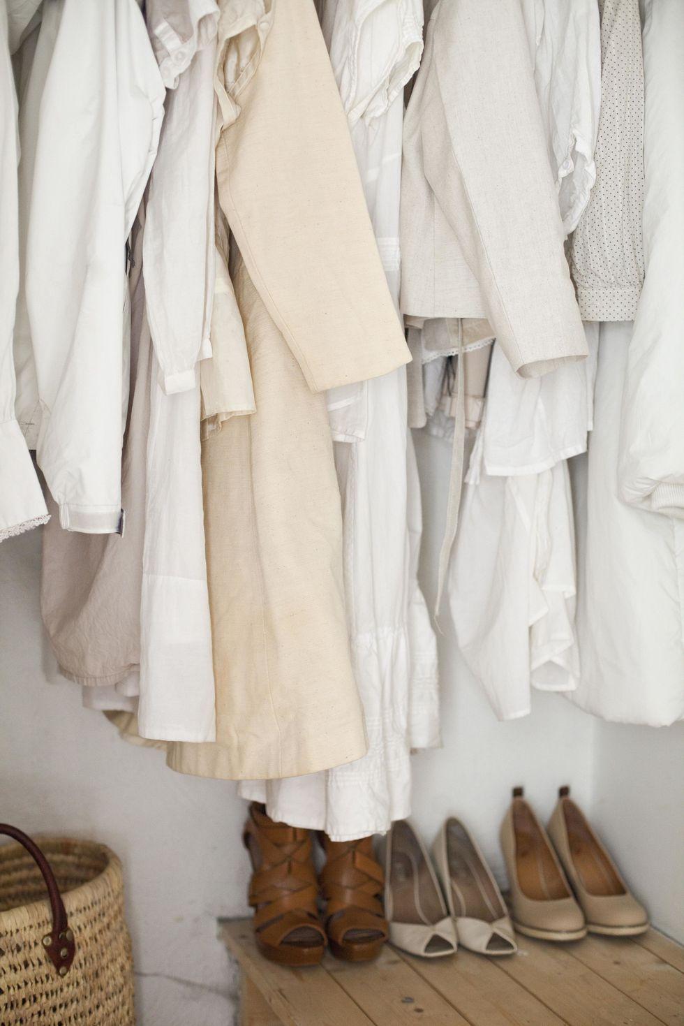 Daylight Savings Closet Declutter
