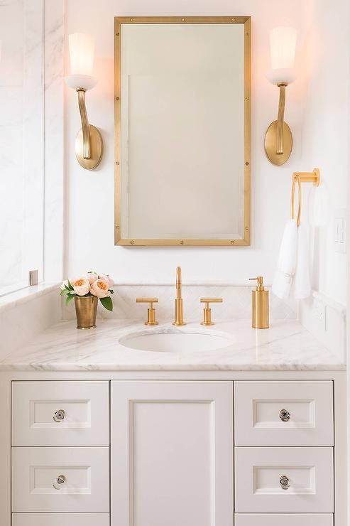 bathrooms with gold fixtures glamorous gold bathroom fixtures hadley court interior 17240