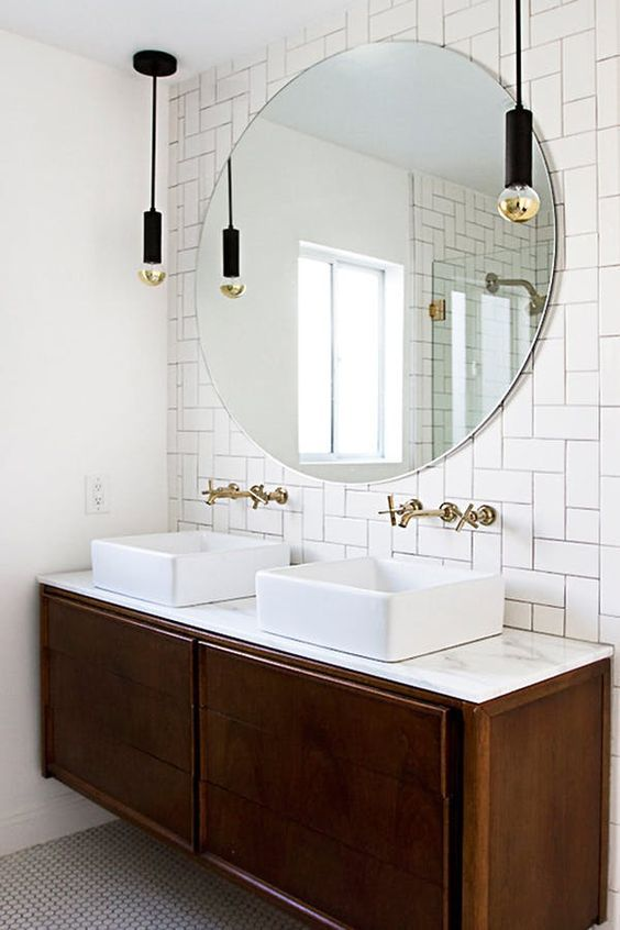 5 ways to use subway tile in the bathroom