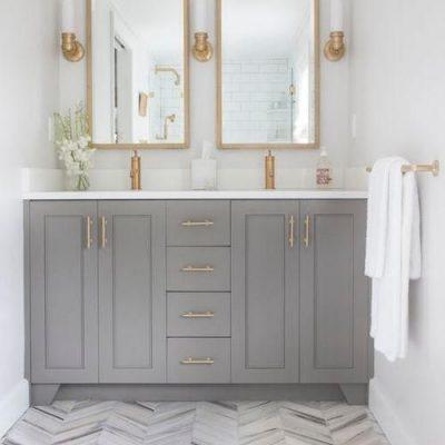 Glamorous Gold Bathroom Fixtures