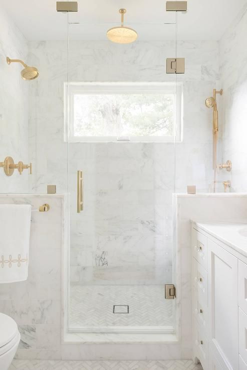 Glamorous Gold Bathroom Fixtures Hadley Court Interior