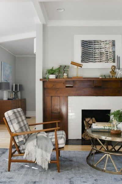 5 ways to use subway tile in the living room