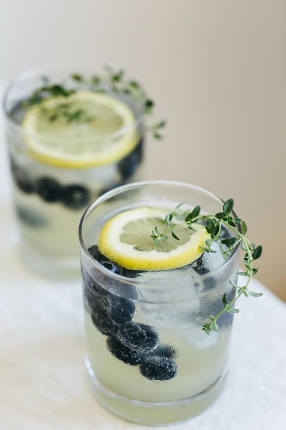 summer cocktail recipes we love limoncello with blueberries