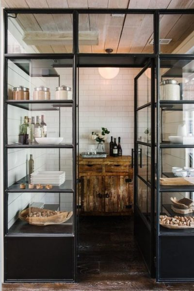 Why You Need One of These Cool Pantry Doors