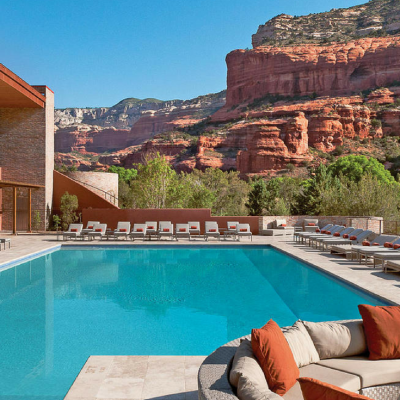 hotels with amazing pools enchantment resort Sedona