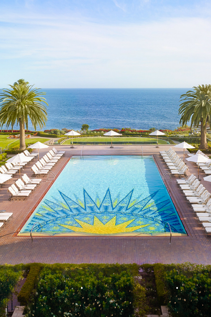 hotels with amazing pools montage laguna beach