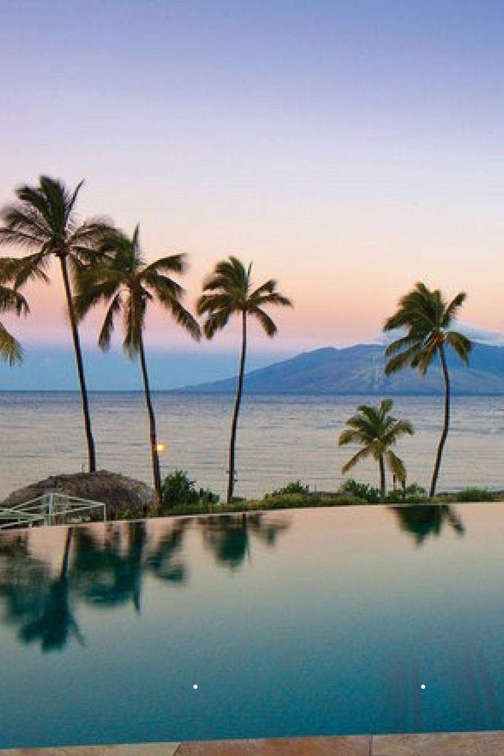 hotels with amazing pools four seasons Hawaii