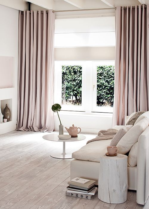 pretty pink home decor ideas pink drapes