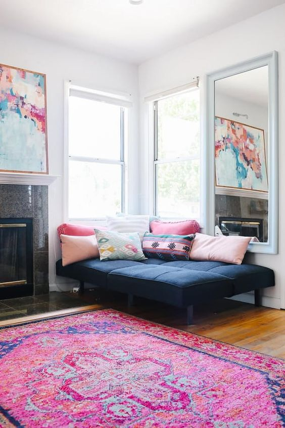 pink home decor ideas pink rug