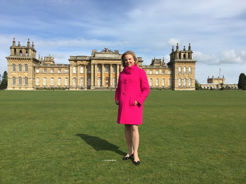 Downton Abbey tour - Blenheim Palace