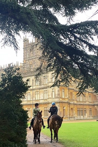 Take a Downton Abbey tour with Award Winning Author Holly Holden