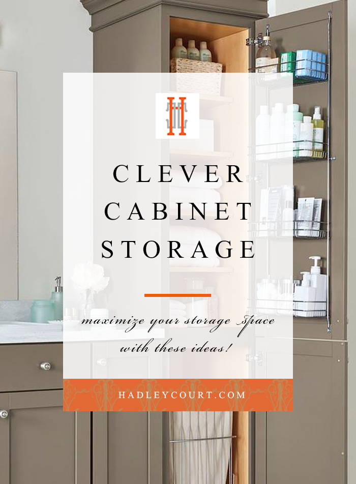 Clever Cabinet Storage