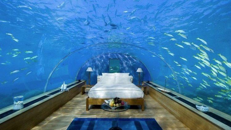Conrad Maldives underwater resort