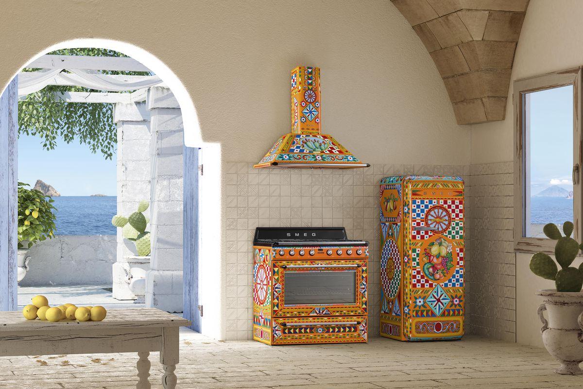 Dolce & Gabbana x Smeg appliances