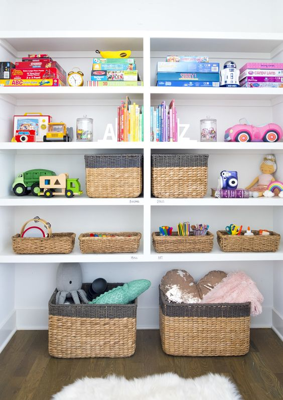 How to declutter: Storage Spaces