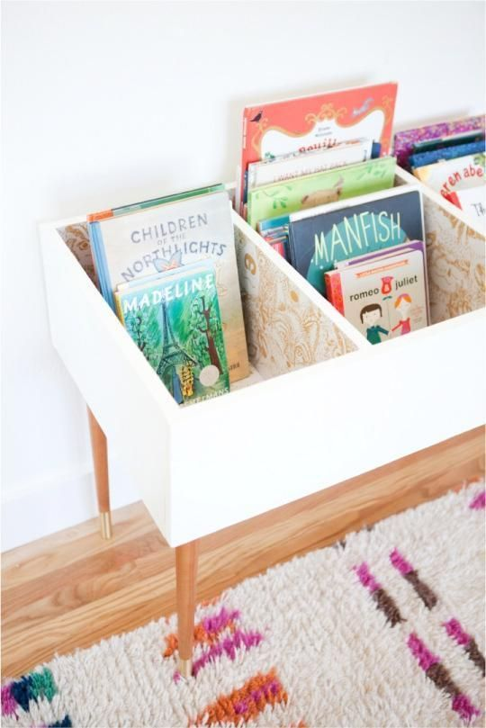 how to declutter: bookshelves