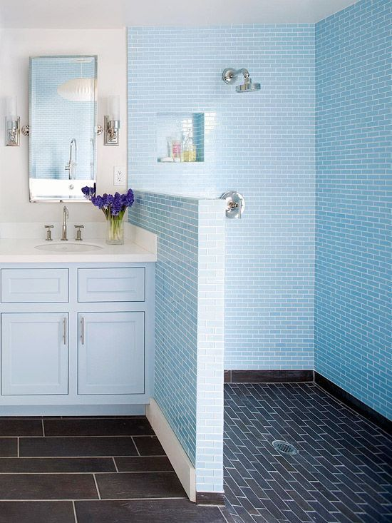 stunning showers we love bright bathroom ideas