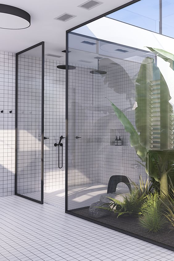 stunning shower ideas indoor outdoor bathroom