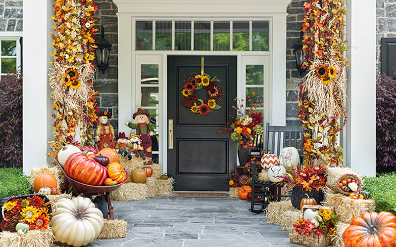 Front Porch Inspirations for Fall