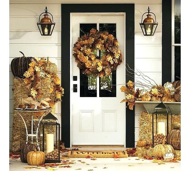 Back to Nature and Rustic Fall Decor