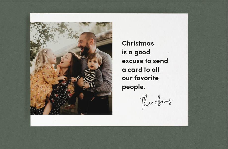 Minted.com Christmas Cards
