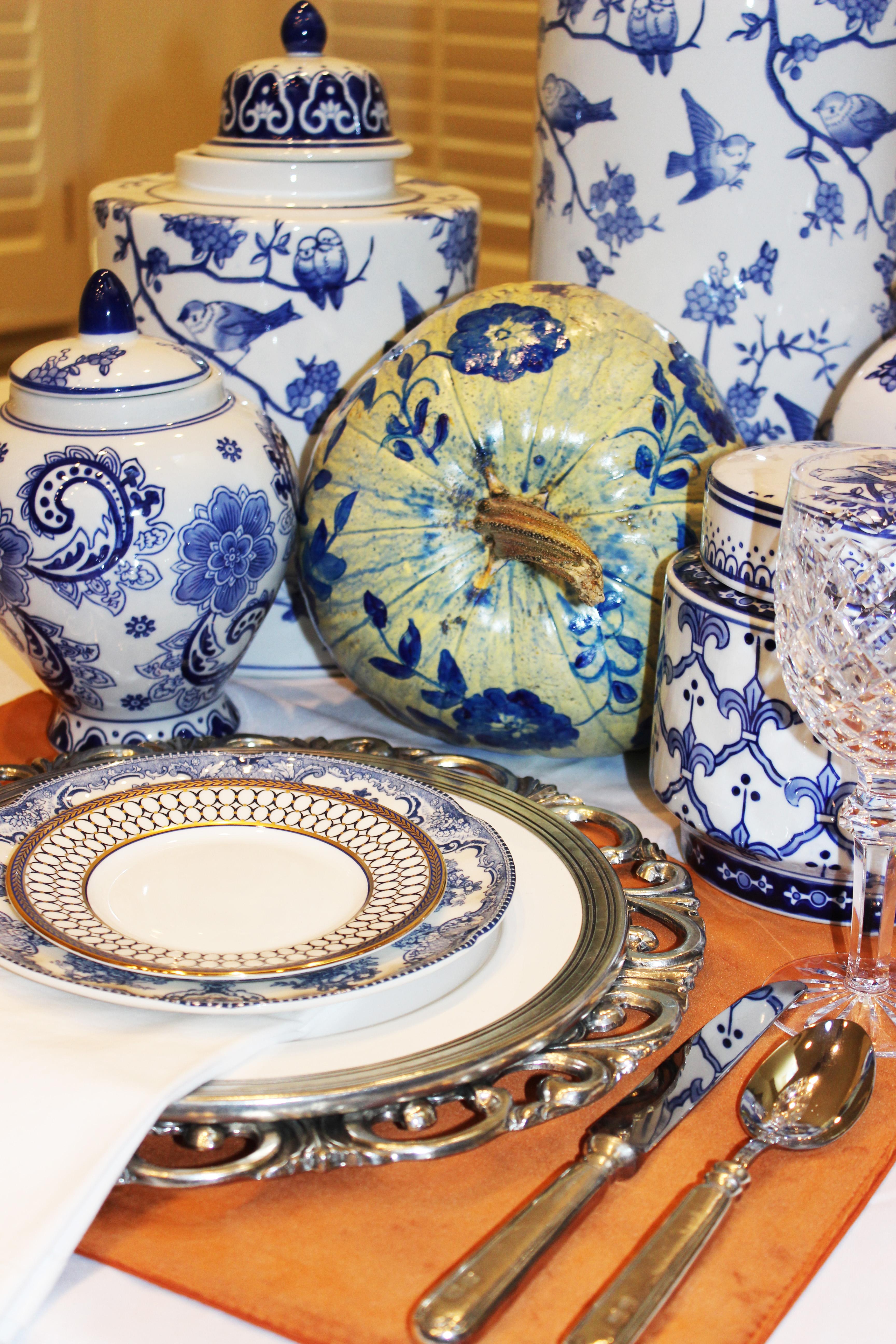 elegant thanksgiving dinner fine china