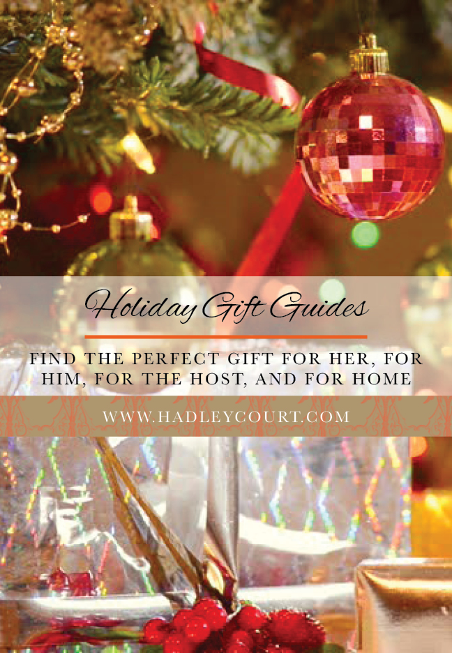 Holiday Gift Guides - Find the perfect gift for him, for the host, and for home
