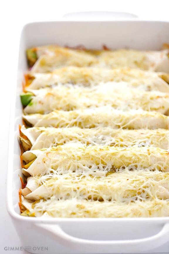 Contest -Winning Turkey Enchiladas