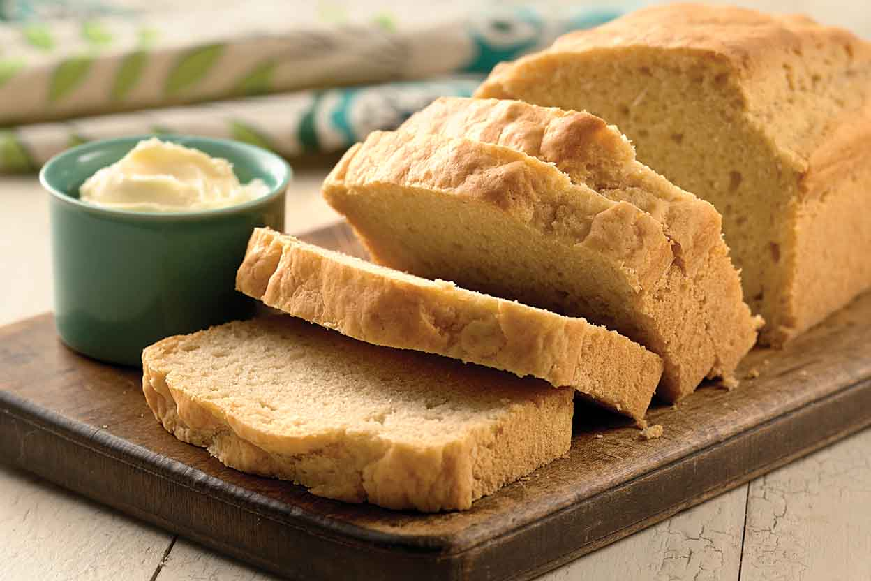 Informal Thanksgiving Dinner:  Tabletops & Recipes - Beer Bread
