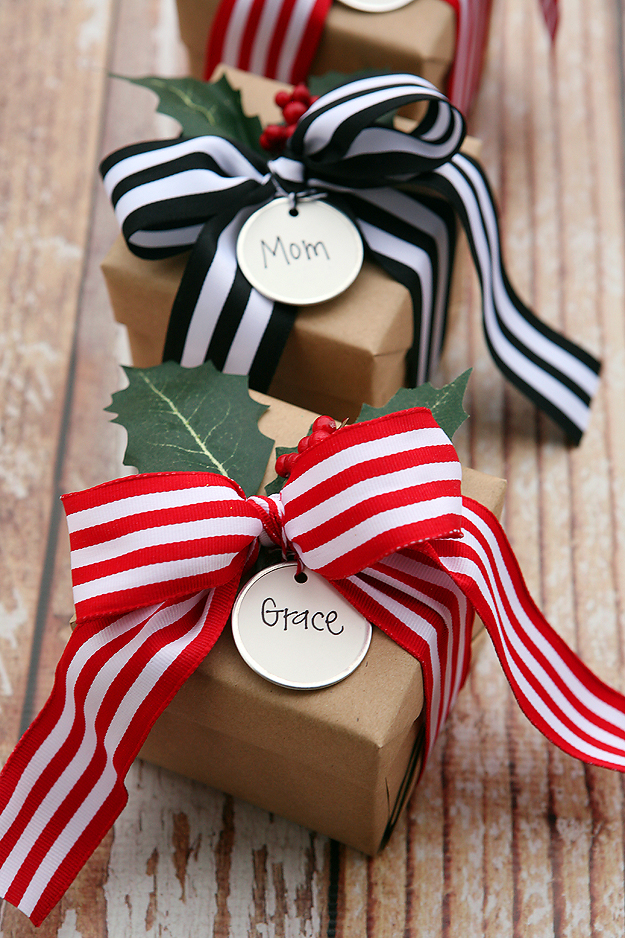 Get Personal with Gift Wrapping