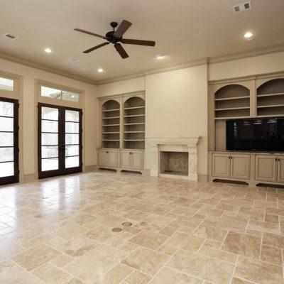 travertine floors