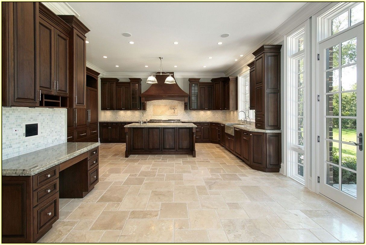 Chiseled travertine