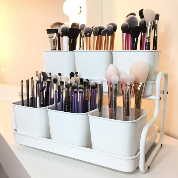 Bathroom Organizing - Container