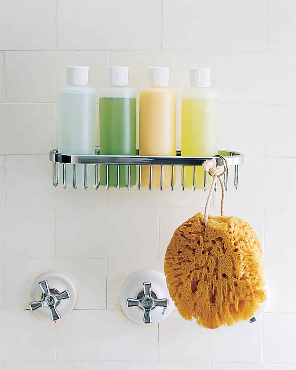 Bathroom Organizing - Shower