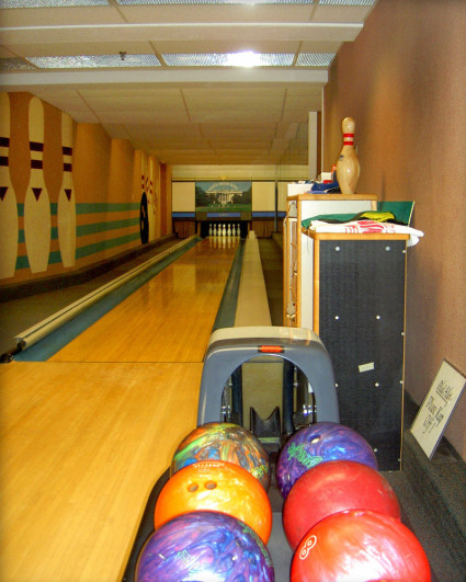 Finished Basement Designs - Bowling Alley