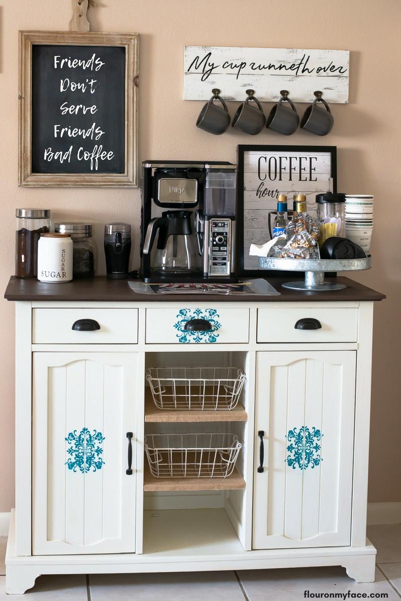 Coffee Bar Kitchen: Top Trending Coffee Station Ideas