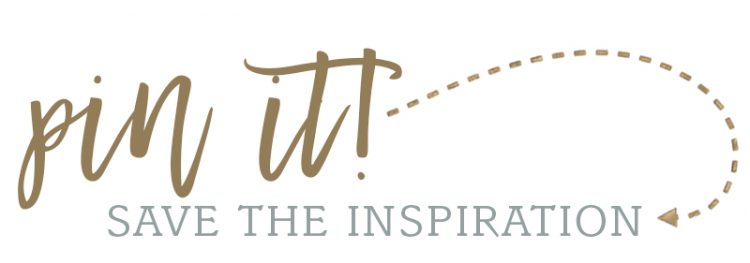 pin it - save the inspiration