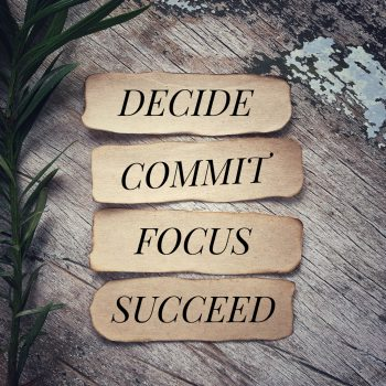 Declutter: Decide, Commit, Focus, Succeed